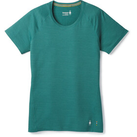Smartwool Merino 150 Baselayer Pattern Short Sleeve Women Jungle Green